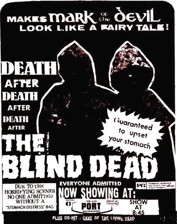 The Blind Dead at the drive-in